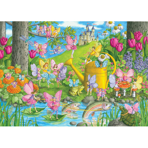Ravensburger 100pc Fairy Playland Puzzle
