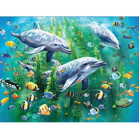 Ravensburger 100pc Dolphin Trio