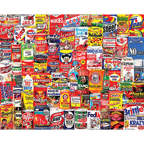 White Mountain 1000pc Wacky Packages
