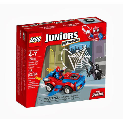Lego Jr Spider-Man:Car Pursuit