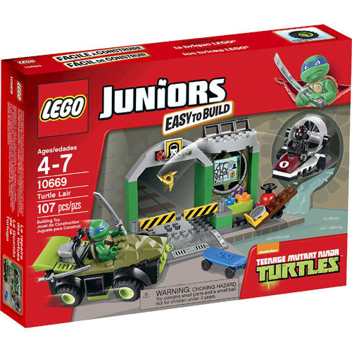 Lego Juniors Turtles Lair