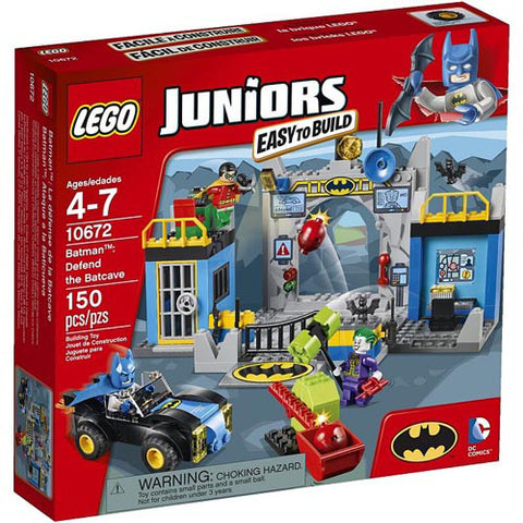 Lego Jr Batman: Defend the Batcave