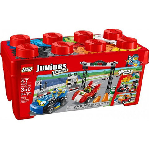 Lego Jr Race Car Rally