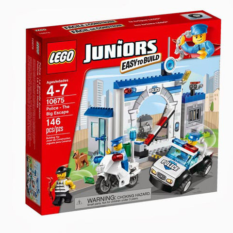 Lego Jr Police-The Big Escape