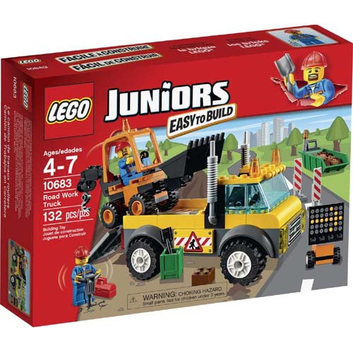 Lego JR Road Work Truck