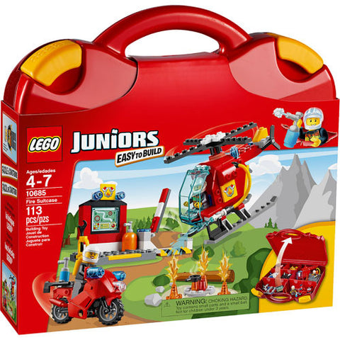 Lego JR Fire Suitcase
