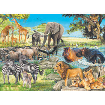Ravensburger 100Pc African Afternoon Puz