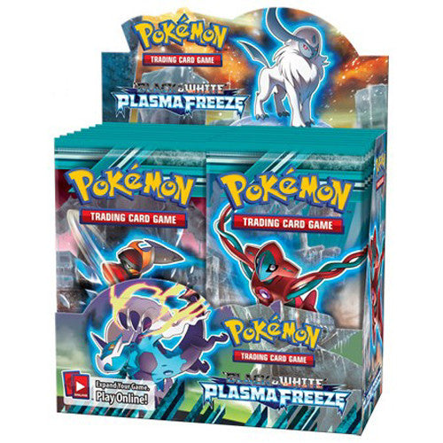 Pokemon Plasma Freeze Boost Cards NEW