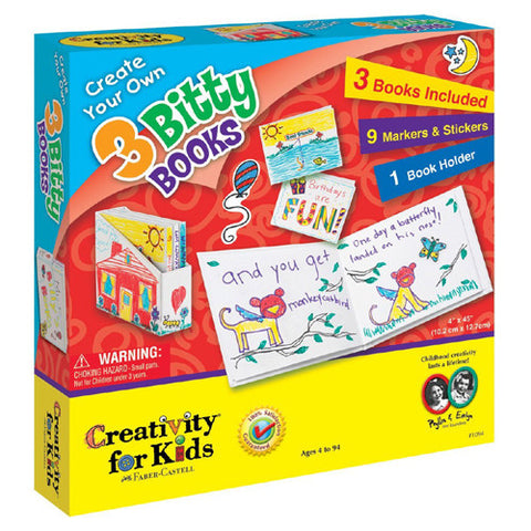 Creativity Create Your Own 3 Bitty Books