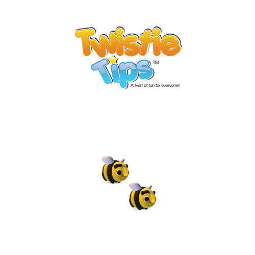 Twistie Tips Bee