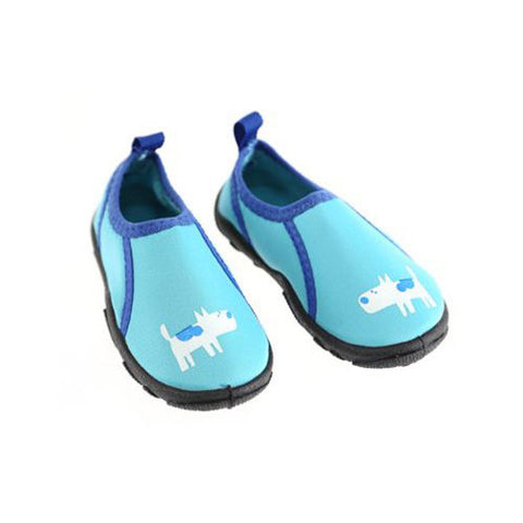 Swimways Water Shoes Blue Dog Small 5-6
