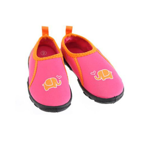 Swimways Water Shoes Pink Elephant Large 9-10