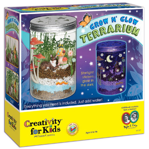 Creativity Grow N Glow Terrarium
