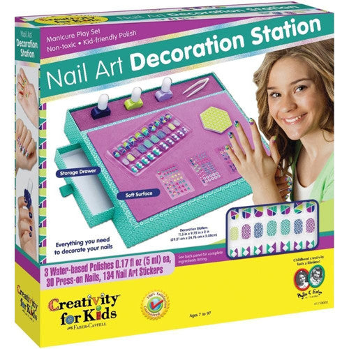 Creativity Nail Art Decoration Station