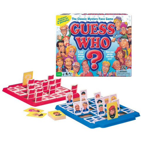 Winning Moves Guess Who 1980's Version