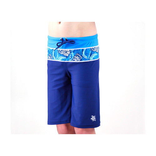 Tuga Boys South Swell Shorts Cobalt 4 Year