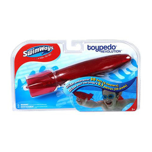 SwimWays Toypedo Revolution Red