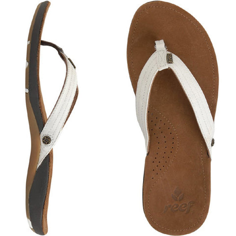 Reef Wos Miss J-Bay Tan White 9.0