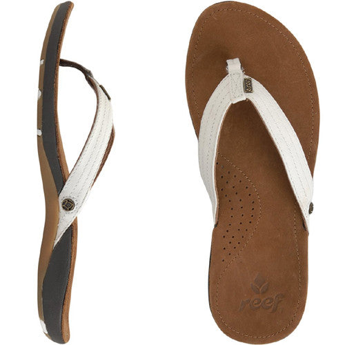 Reef Wos Miss J-Bay Tan White 6.0