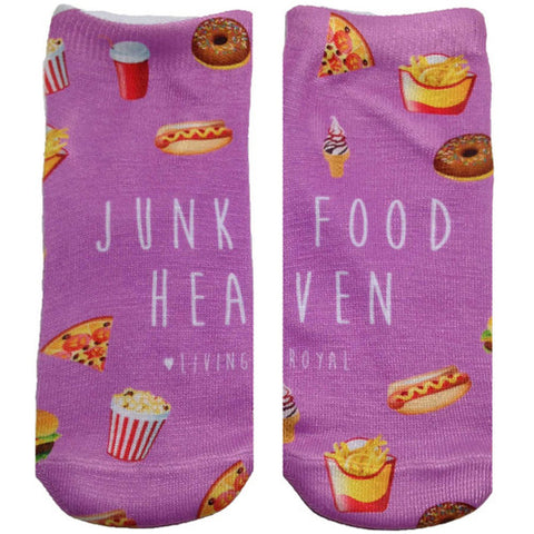 Living Royal Junkfood Heaven Ankle Socks