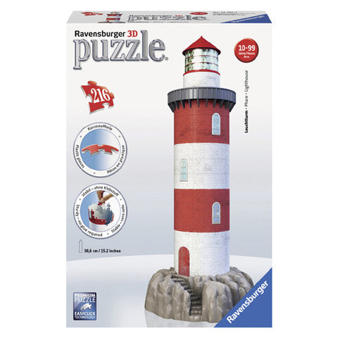 Ravensburger 216pc 3D Coastal Lighthouse