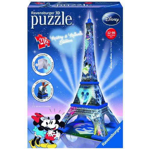 Ravensburger 216pc Mickey & Minnie Eiffe