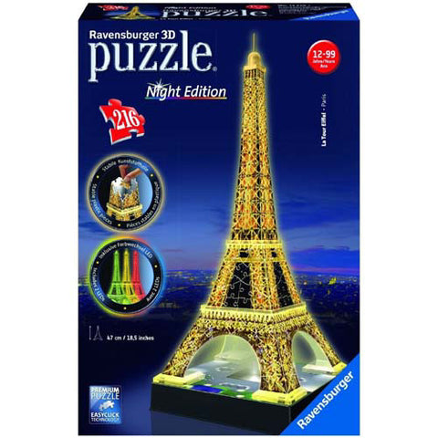 Ravensburger 216pcEiffel Tower Night Ed