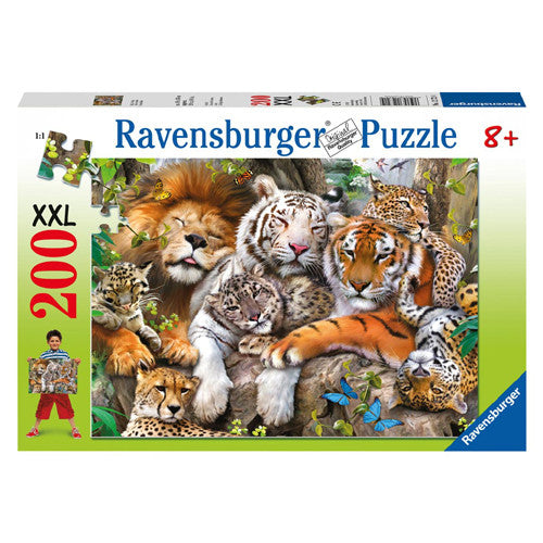 Ravensburger 200pc Big Cat Nap