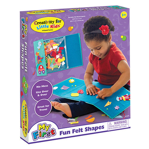 Creativity My First Fun Felt Shapes