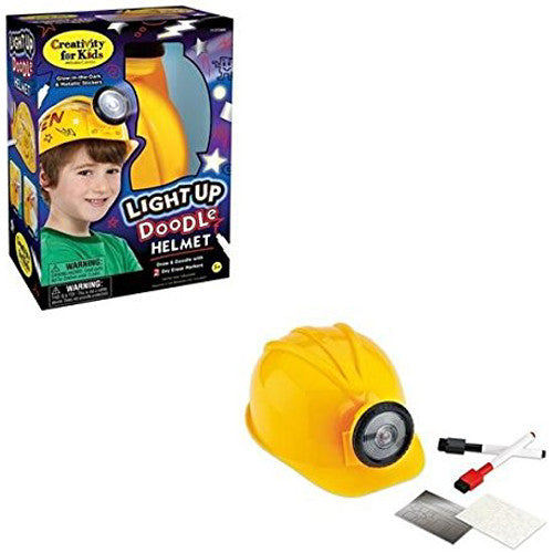 Creativity Light Up Doodle Helmet