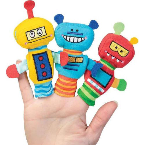 Manhattan Toy Rad Robots Finger Puppet