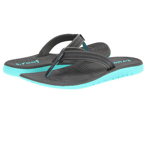 Reef Wos Shore Drift Grey Turquoise 9.0