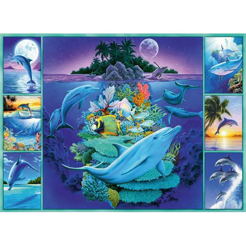 Ravensburger 300pc Dolphin Collage