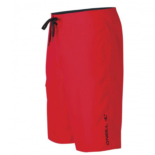 O'Neil Yth Short Santa Cruz Solid Red 30