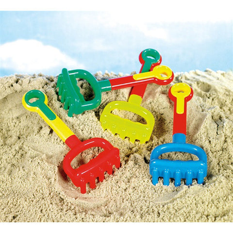 Small World Multi Colored Rake
