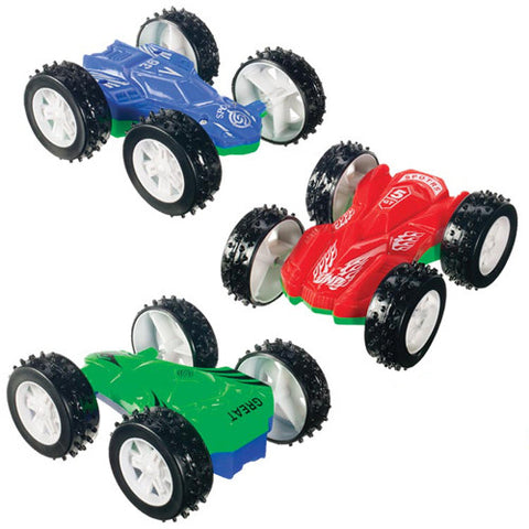 Toysmith Double Sided Flip Car