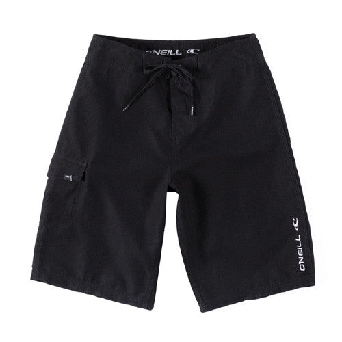 O'Neill Boys Solid Santa Cruz BK-Black 12