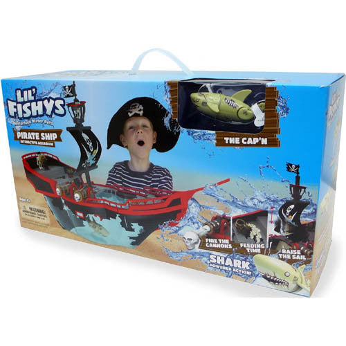 Lil Fishy's Sunken Pirate Ship Play Set