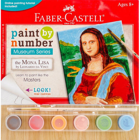 Faber Castell Paint by Number Mona Lisa