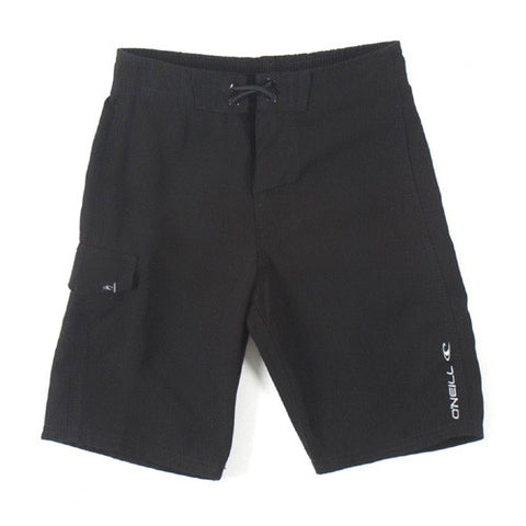 O'Neill Kids Solid Santa Cruz XL BK-Black