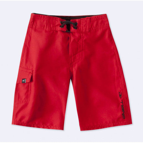 O'Neill Kids Solid Santa Cruz XL RD-Red