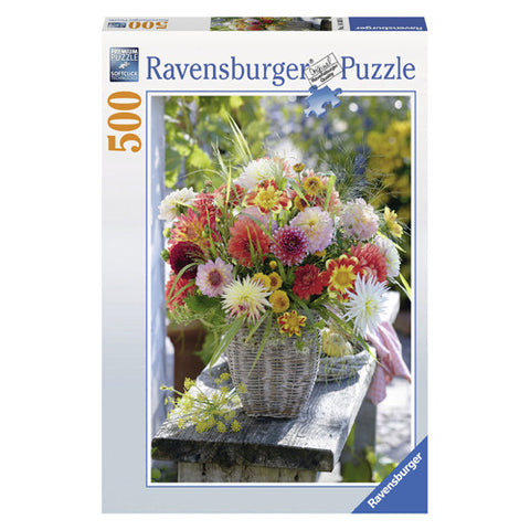 Ravensburger 500pc Beautiful Flowers