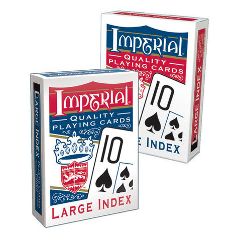 Patch Imperial Large Index Playing Cards