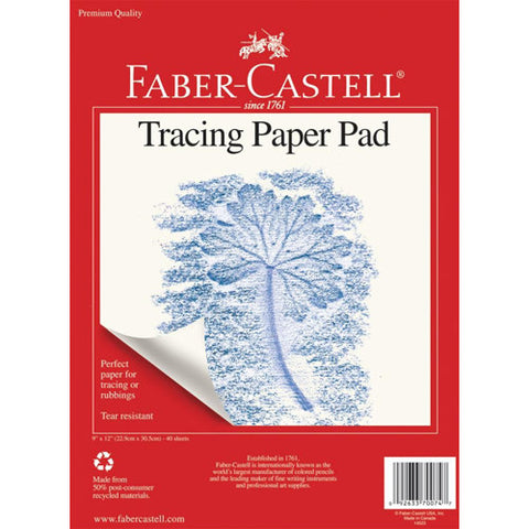 Faber Castell Tracing Paper 9x12