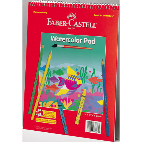 Faber Castell Watercolor Pad 9x12
