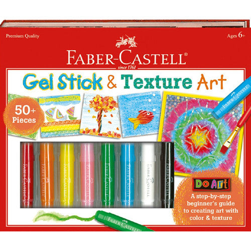 Faber Castell Do Art Gel Stick & Texture