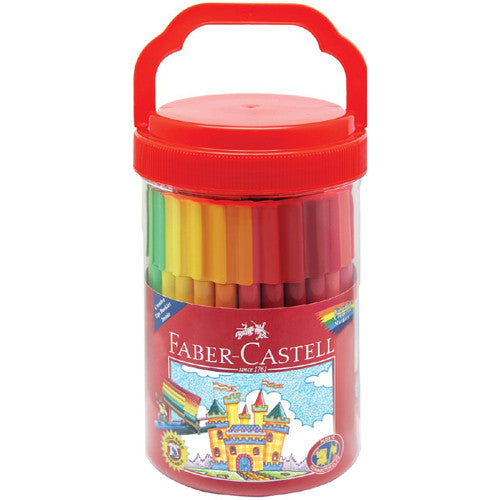 Faber Castell 50ct Connector Pen Bucket