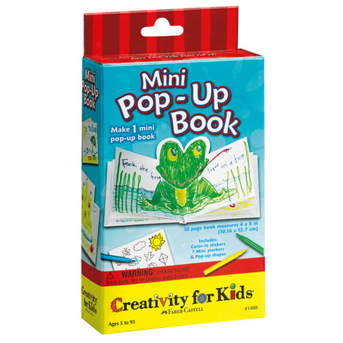 Creativity Mini Pop-Up Book