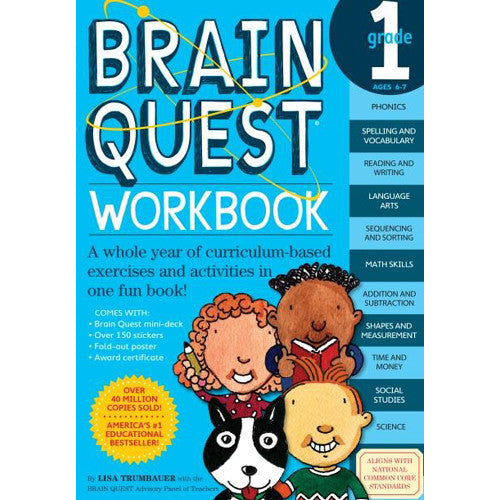 Workman Brain Quest Workbook 1st Grade