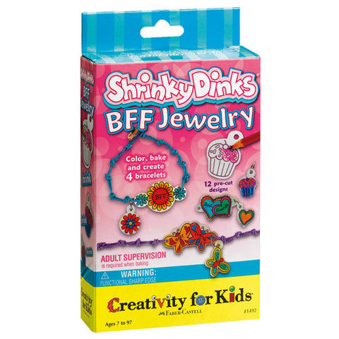 Creativity Shrinky Dinks BFF Jewelry